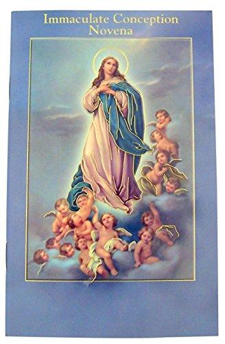 ano Design Gold Prägung noveenkerzen bebilderte Buch der Gebete und Devotions von Empfängnis, 10Stück ()