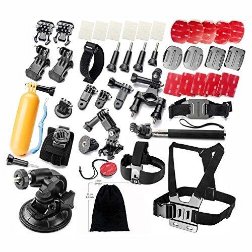 gearmaxr-accessoires-pour-gopro-hero-4-3-3-2-1-noire-argent-sports-aquatiques-extremes-mecaniques-ac