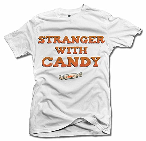 STRANGER WITH CANDY FUNNY HALLOWEEN T-SHIRT Men's Tee (6.1oz)