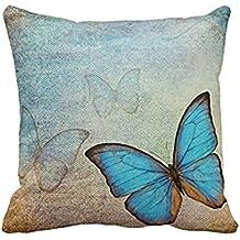 Fundas De Cojines,Xinantime Funda de almohada del sofá de la cintura Throw Cojín Decoración (H)
