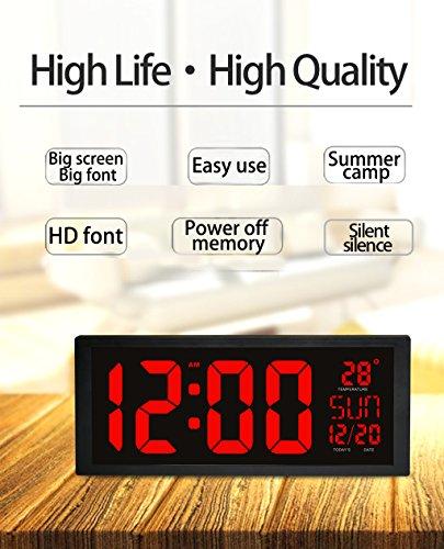 digital office wall clocks digital. Digital Office Wall Clocks Digital. Unique Heqiao Clock 14 Inch Large Led Slim