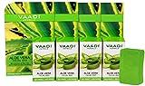 Vaadi Herbals Value Aloe Vera Facial Bars with Extract of Tea Tree, 25gm