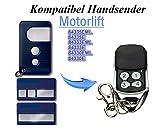 Chamberlain 4 Kanal Garagentor Fernbedienung Geeignet für Motorlift 500 | 750, Kompatibel Handsender Ersatz