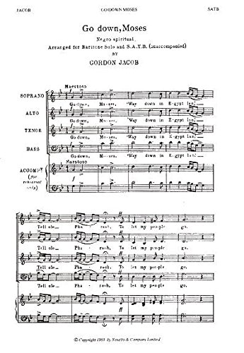 gordon-jacob-go-down-moses-partitions-pour-baryton-satb