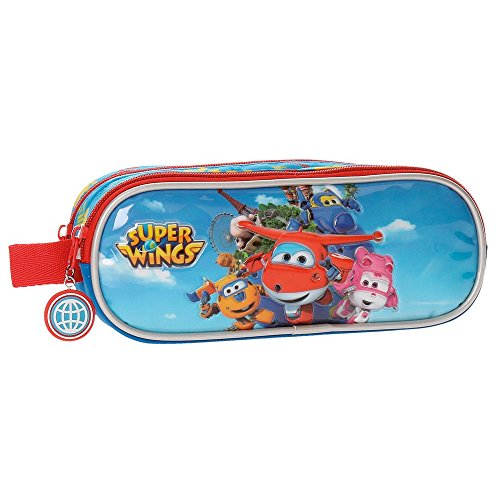 Super Wings-Trousse double compartiment Super Wings