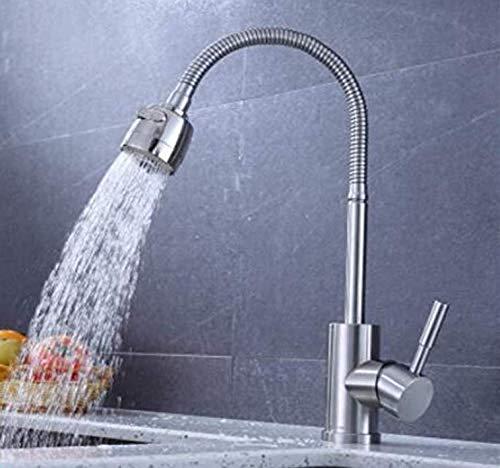 Sink Armaturen für Bathsteel einzelnen kalten Gemüsebassin Gemüse Basin Küche - Wannen - Hahn Universal - Drehschwenker 360 ° (Armaturen Wanne Einzelne)