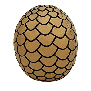 "Game Of Thrones 7 ""Oeuf de dragon en peluche: Gold"