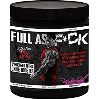 Rich Piana 5% FULL AS F*CK 360g Wildberry