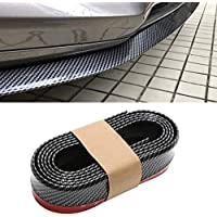 ibimble for Samurai Car Body Kit Bumper Lip Protector Edge Decorative, 2.5 Meter with 3M Tape & Screws (Carbon Fibre…
