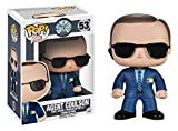 Funko 4053 - Marvel Comics, Pop Vinyl Figure 53 Agent Coulson, 10 cm