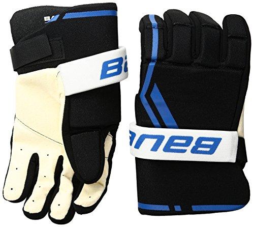 Bauer Senior Street Hockey Handschuh (Paar), groß, Schwarz