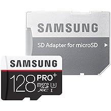 Samsung MB-MD128DAEU - Tarjeta de memoria MicroSDXC de 128 GB (UHS-I, Clase 10)