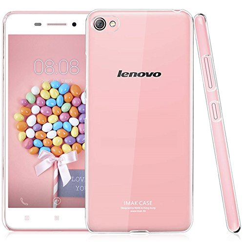 Heartly Imak Crystal Clear Hot Transparent Flip Thin Hard Bumper Best Back Case Cover For Lenovo Sisley S60 Dual Sim  available at amazon for Rs.299