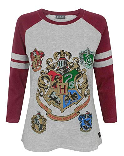 Hogwarts Harry Potter Women\'s Raglan Top (S)
