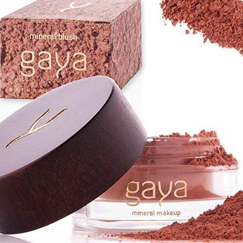 Gaya Cosmetics Mineral Blush Rouge Puder - Vegan Wangenrouge Women Make Up für langanhaltende Resultate in einer 9g Dose (BF2 Shade)