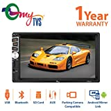 myTVS TAV-61 Double Din HD Touch Screen Car Stereo Media Player with Bluetooth/USB/MP5/MP3