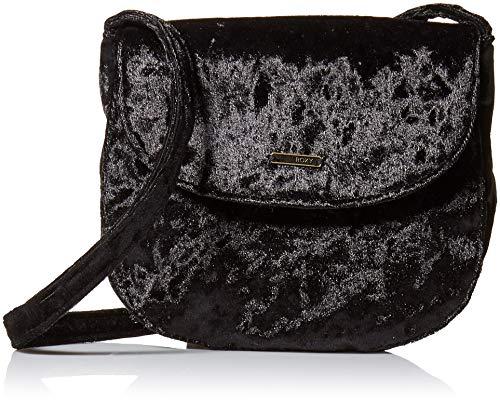 Roxy Cross (Roxy Damen Velvet Small Bag Like a Love Song Samt Kleine Crossbody-Tasche, True Black, Einheitsgröße)
