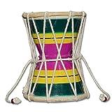 Shiva Damru Hand Percussion Handmade Indian Musical Instrument