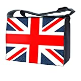 Luxburg uk-nb-sb-19503–17–01–13Design Messenger Tasche für 17Laptop mit Schultergurt, Union Jack