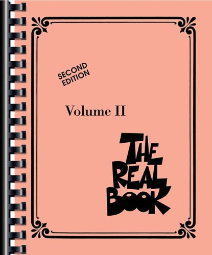 The real book - volume II (2nd ed.) instruments en do (Real Books (Hal Leonard))