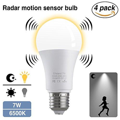 Warmes Weiß einzelhandel E27 12 Watt 24 Led Pir Motion Sensor Birne
