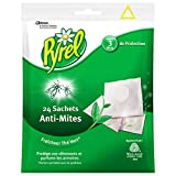 Pyrel Sachets Anti-Mites, Senteur Fraîcheur Thé Vert, Insecticide, Lot de 24