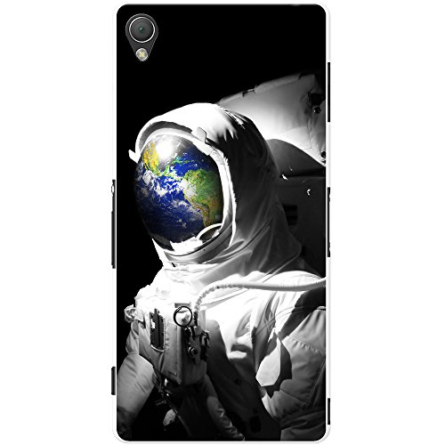 Astronautenanzug & Spiegelbild der Erde Hartschalenhülle Telefonhülle zum Aufstecken für Sony Xperia Z3