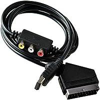 Mcbazel Scart RGB AV Cable Audio Cable Conector de video para Sega Dreamcast