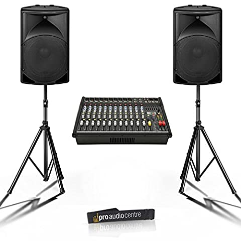1000W Big Band PA System with 15