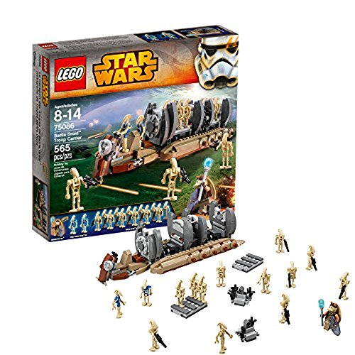 LEGO Star Wars 75086 - Battle Droid Troop Carrier (Lego Star Wars Naboo Battle)