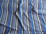 Burda Style, Jersey, gestreift, blau, weiß, grau
