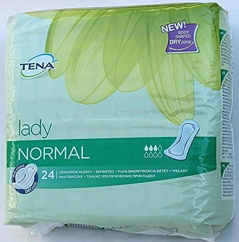 TENA LADY Normal Pads Einlagen Damen Binden 24 St. pro Pack