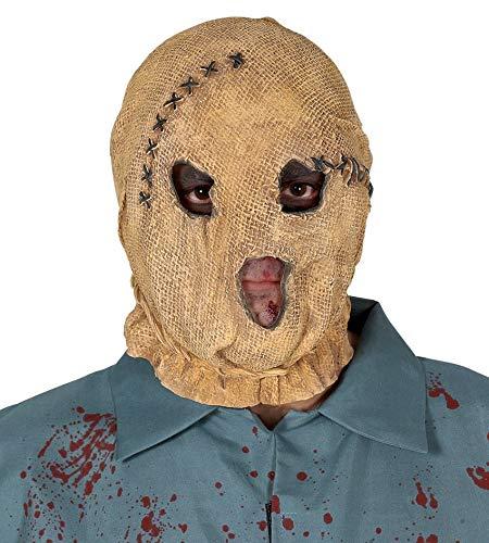 Vogelscheuche Maske - The Strangers Scarecrow Maske Halloween Herren (Maske, Halloween Sack)
