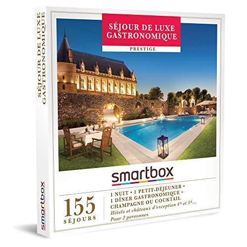 SMARTBOX - Coffret Cadeau Noël Couple - Idée cadeau original - Séjour de luxe...