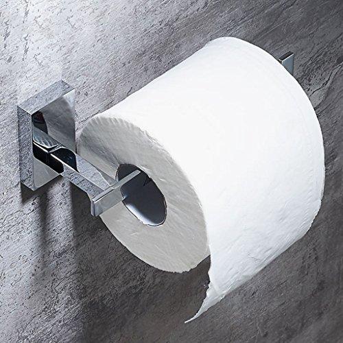 Toilettenpapierhalter Liuyu · häusliches Leben Einfache und stilvolle Hotel-Badezimmer-Rollen-Papier-Halter-Haus-WC-Messing-Papier-Tuch-Halter-Toilettenpapier-Standplatz