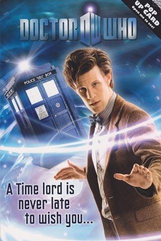 Pop-up-Geburtstagskarte Dr. Who und Tardis (englischsprachig)
