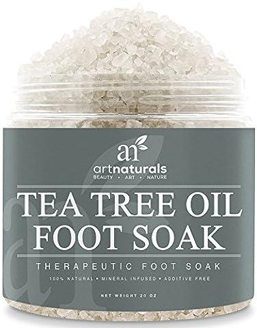 ArtNaturals Tea Tree Bath Salt - 590 ml - Foot