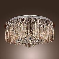 LAXOU - Lampadario in cristallo con 18 lampadine , 220-240V