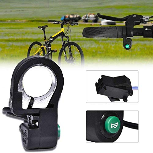 Preisvergleich Produktbild ROMORR Electric Bicycle Horn Motorcycle Switch Button Scooter Waterproof Plastic Bicycle Horn Signal Switch Button Accessories