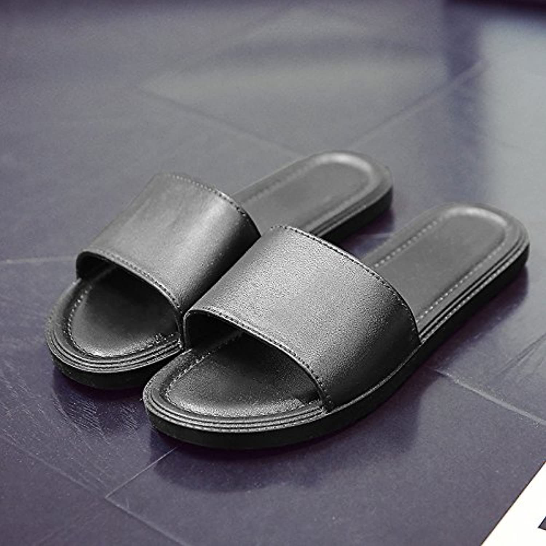 Fankou Zapatillas de verano pareja femenina plantas frescas zapatillas home stay antideslizante con baño verano...