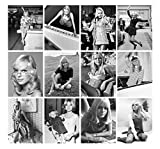 Calendrier mural 2020 [12 pages 20x30cm] France Gall French Chanson Music Vintage Magazine Cover Photo Affiche