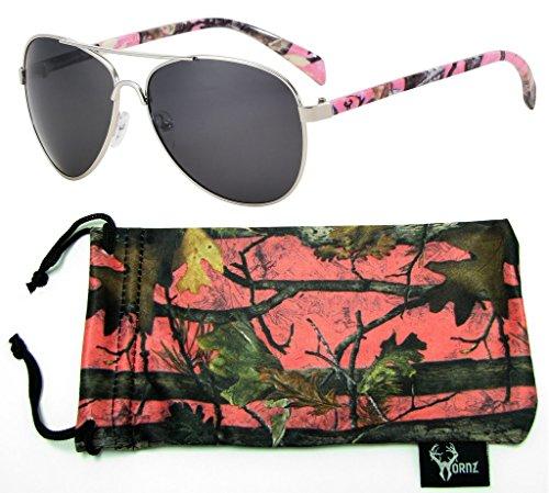 hornz-rosa-camuffamento-polarizzati-occhiali-da-sole-aviator-per-le-donne-e-coincidenti-con-microfib