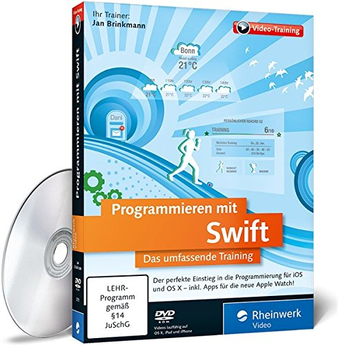 Watch Video (Programmieren mit Swift, DVD-ROMDas umfassende Training. Der perfekte Einstieg in die Programmierung für iOS und OS X - Inkl. Apps für die neue Apple Watch! Für Windows, Macintosh, UNIX / LINUX. 480 Min.)