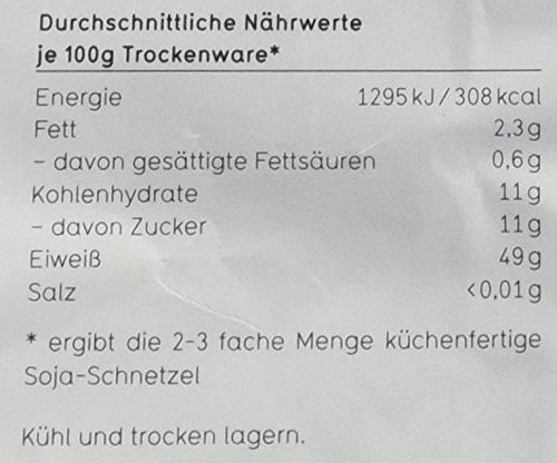 Veganz Soja Schnetzel – 5 x 300g - 3