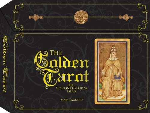 The Golden Tarot: The Visconti-Sforza Deck by Packard, Mary (2013) Paperback