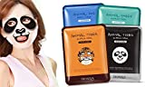 Face masks shouldn't be boring! That's why we offer Panda, Tiger, Sheep, and Dog character masks that are cute and fun. Unwind your day with our masks and you will notice hydrated, soft and radiant skin after first use. Use 2-3 times a week t...