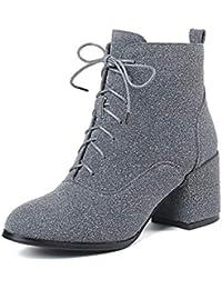 f8e980b36 Amazon.es  Marfil - Botas   Zapatos para mujer  Zapatos y complementos