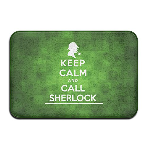 Brook Cad Keep Calm and Call Sherlock Holmes Puerta