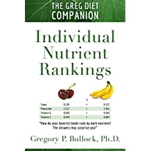 THE GREG DIET COMPANION: Individual Nutrient Rankings (English Edition)