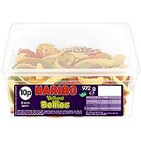Haribo Yellow Bellies Sweet Snakes Tub 30s (1 Tub)